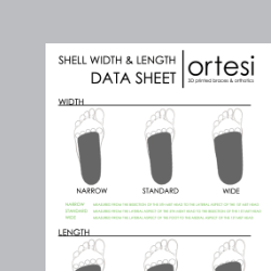 Shell width and length